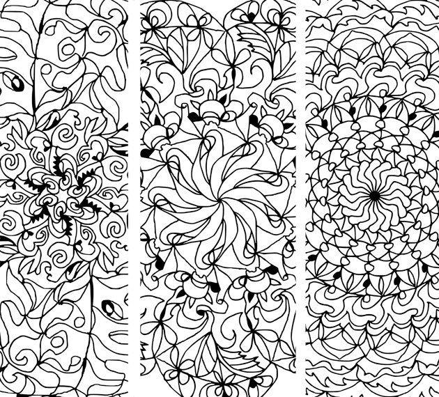 630x570 Mandala Coloring Book Art Therapy Printable Floral Mandala Clipart
