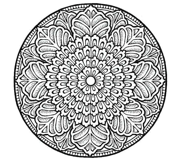735x664 Mandala Coloring Pages Mandala Color Pages Mandala Coloring Pages
