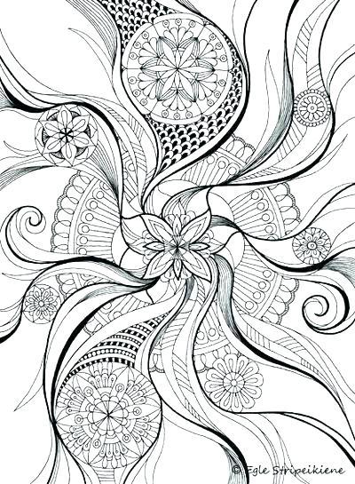 400x545 Coloring Pages Mandala Designs