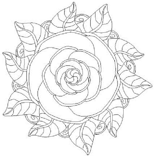 600x600 Collection Of Mandala Coloring Pages Page Prints Colors I Have