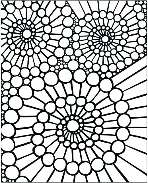 520x643 Cool Design Coloring Pages Floral Pattern Coloring Pages Coloring