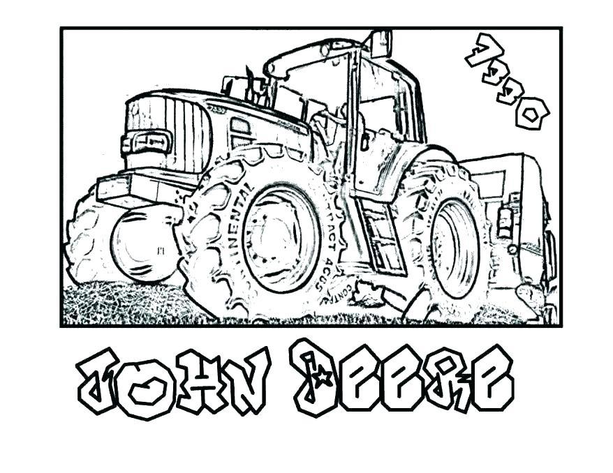 878x678 John Deere Coloring Page John Tractor Coloring Page John Lawn John