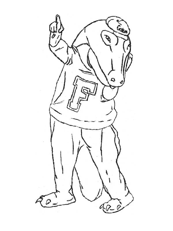 Florida Gators Coloring Pages