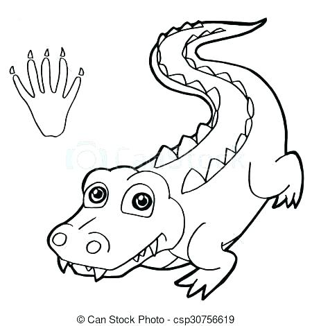 450x470 Florida Gators Coloring Pages Gator Coloring Pages Best Crocodile