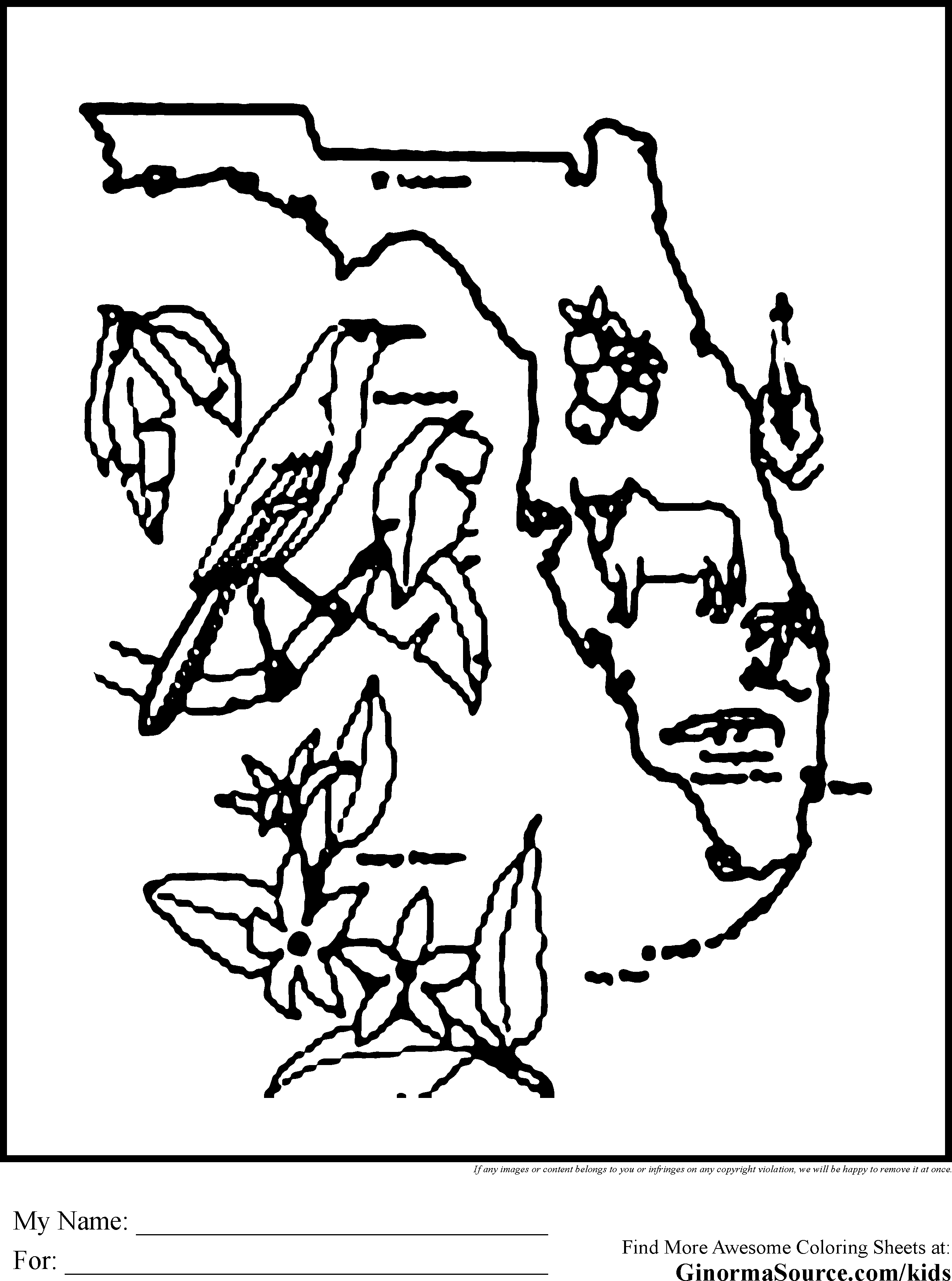 2459x3310 Florida State Seminoles Coloring Pages Collection Coloring