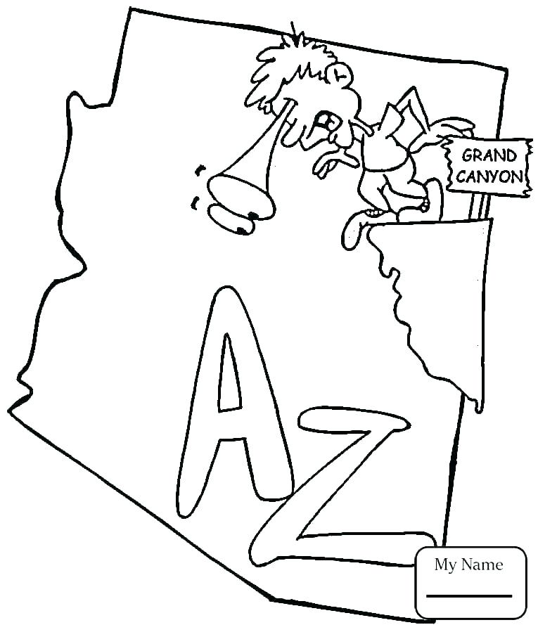765x899 State Coloring Pages State Flag Coloring Page State Flag Coloring