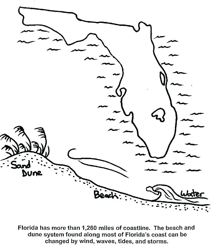 675x800 Florida Coloring Page