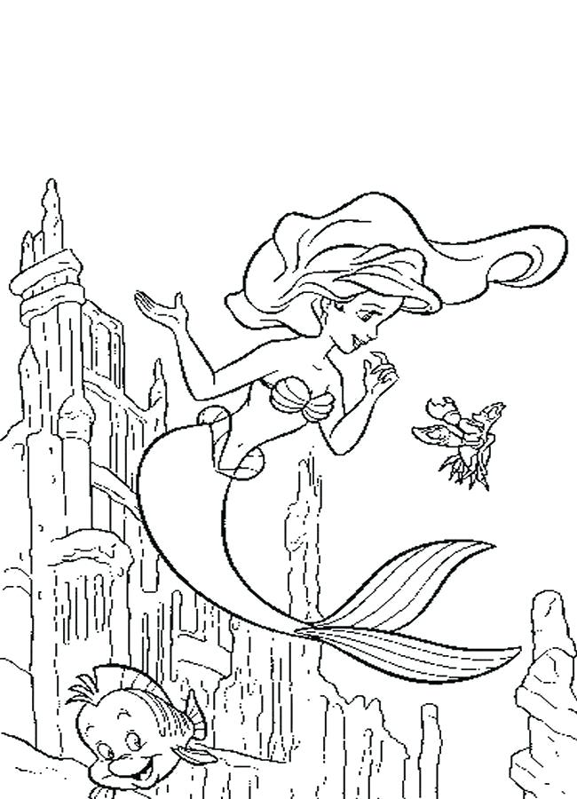 650x900 And Flounder Coloring Pages Many Interesting And Flounder Coloring