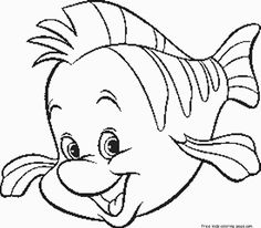 236x206 Little Mermaid Coloring Pages Y Blank Pattern Little Mermaid
