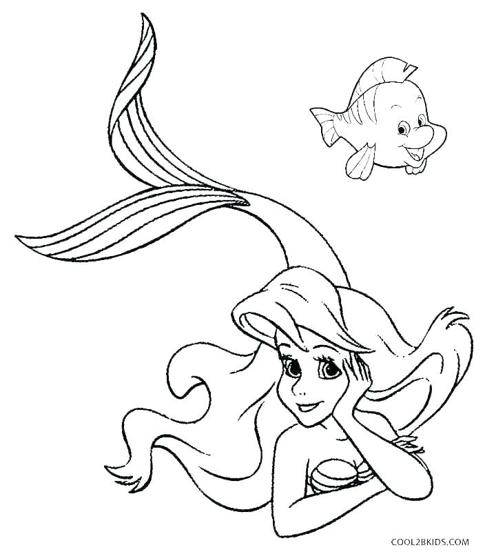 704x800 Ariel Mermaid Coloring Pages Coloring Pages The Little Mermaid