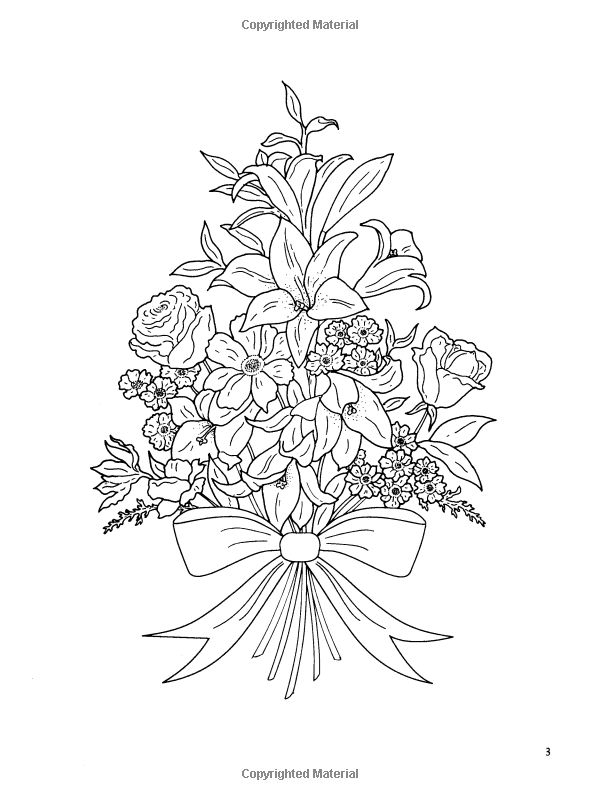 600x800 Best Coloring Pages Flowers Images On Print