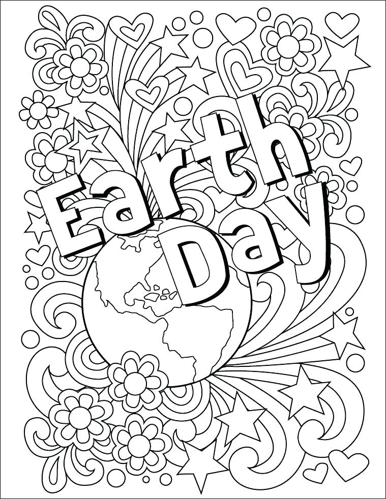 759x982 Free Printable Flower Coloring Pages Coloring Pages Earth Day