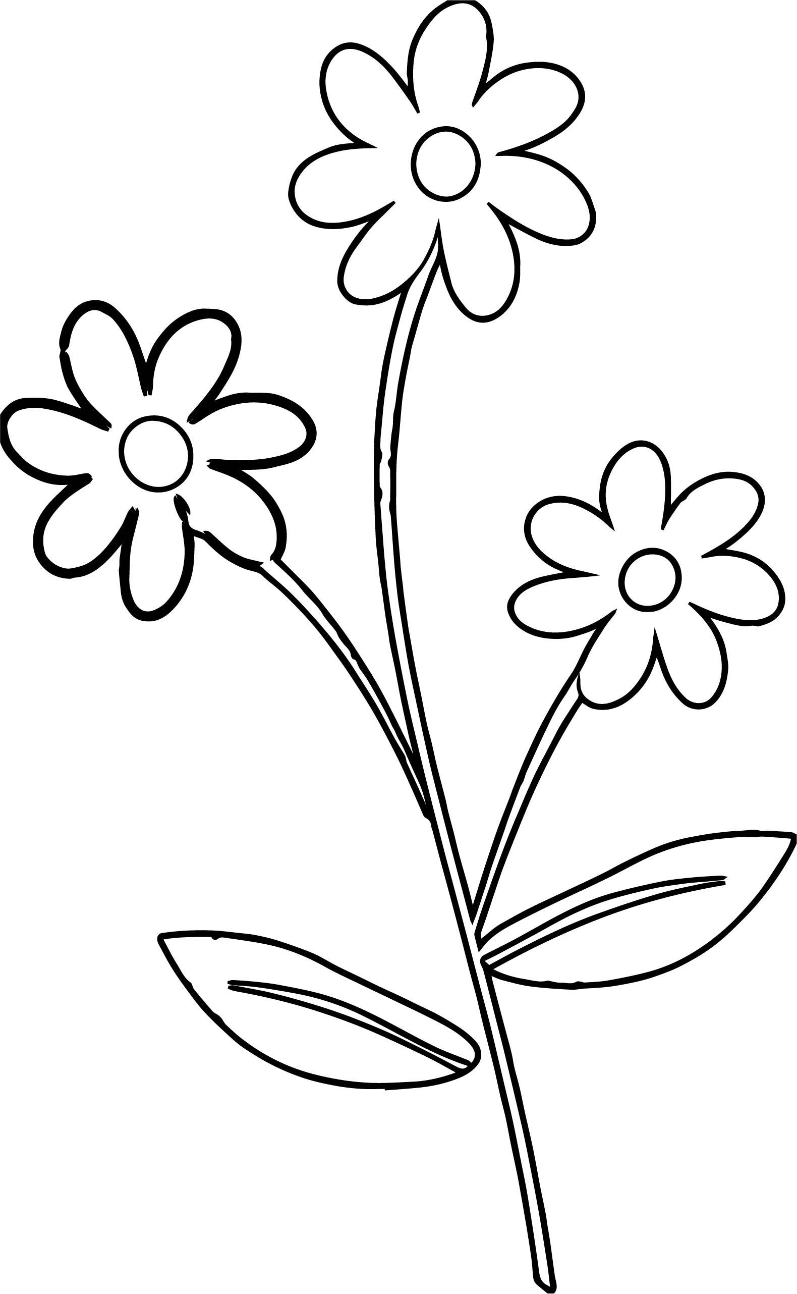 1580x2564 Marvelous Cute Flower Border Coloring Page Wecoloringpage Pict
