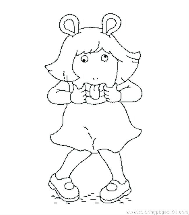 650x740 Arthur Cartoon Coloring Pages Coloring Pages Coloring Pages Free