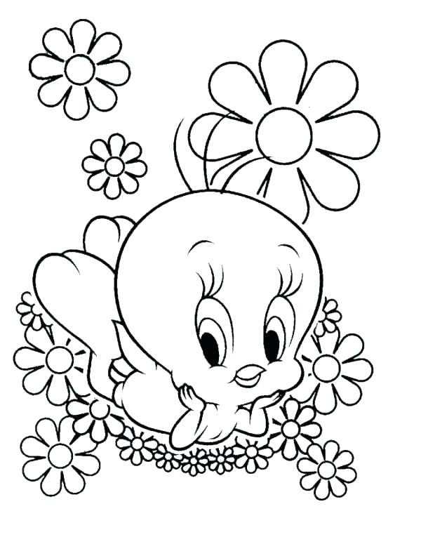 600x765 Flowers And Butterflies Coloring Pages Flower And Butterfly