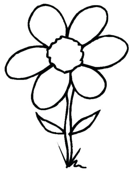 448x577 Ideas Spring Flower Coloring Pages And Spring Flowers Coloring