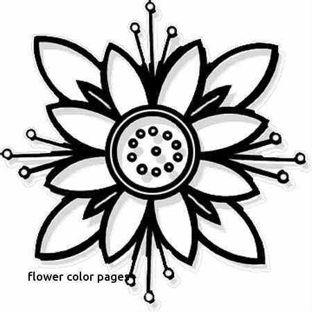 450x449 Spring Flowers Coloring Printout Spring Day Cartoon Coloring