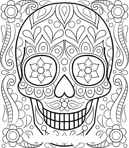 450x513 Adult Coloring Pages Flowers Adult Coloring Pages Flowers Best