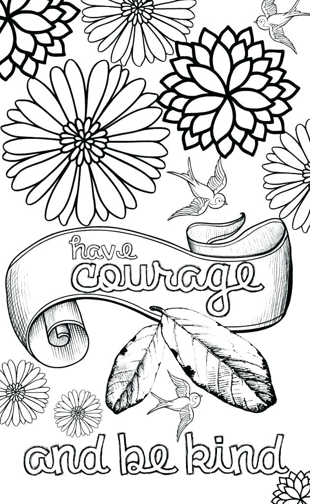 630x1024 Printable Adult Coloring Pages Flowers Image Detail For Free Free