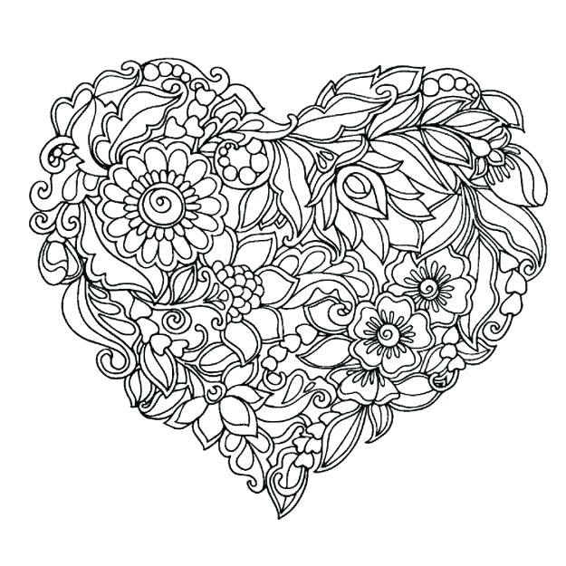 photograph relating to Printable Coloring Pages Flowers named Flower Coloring Webpages For Older people Printable at GetDrawings