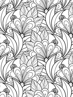 236x311 Heart Valentines Abstract Doodle Zentangle Paisley Coloring Pages