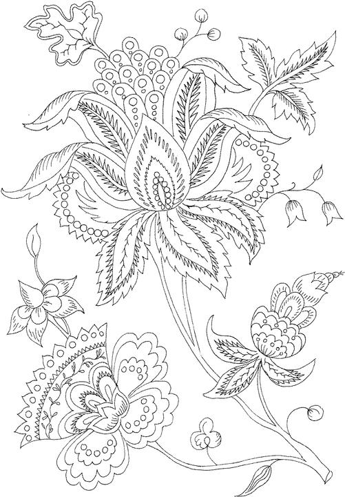 501x720 Adult Printable Adult Flower Coloring Pages Printable Coloring