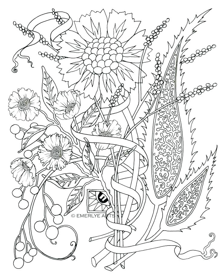 736x926 Printable Coloring Pages Adults