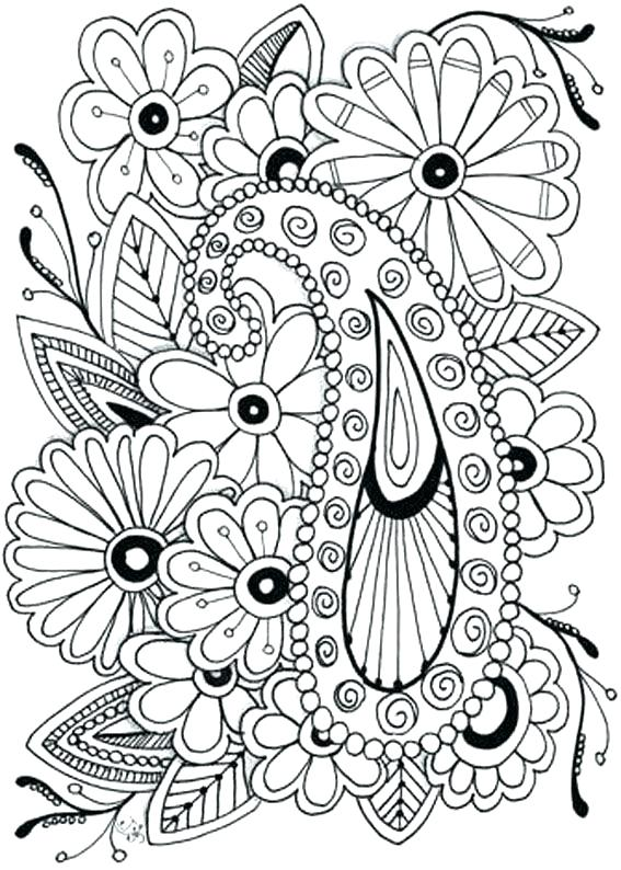 567x794 Free Flower Coloring Pages Teen Coloring Free Flower Coloring