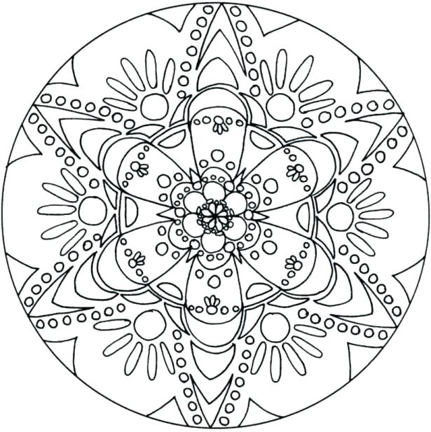 615x617 Teen Color Pages Free Flower Coloring Pages For Teens Top Gear