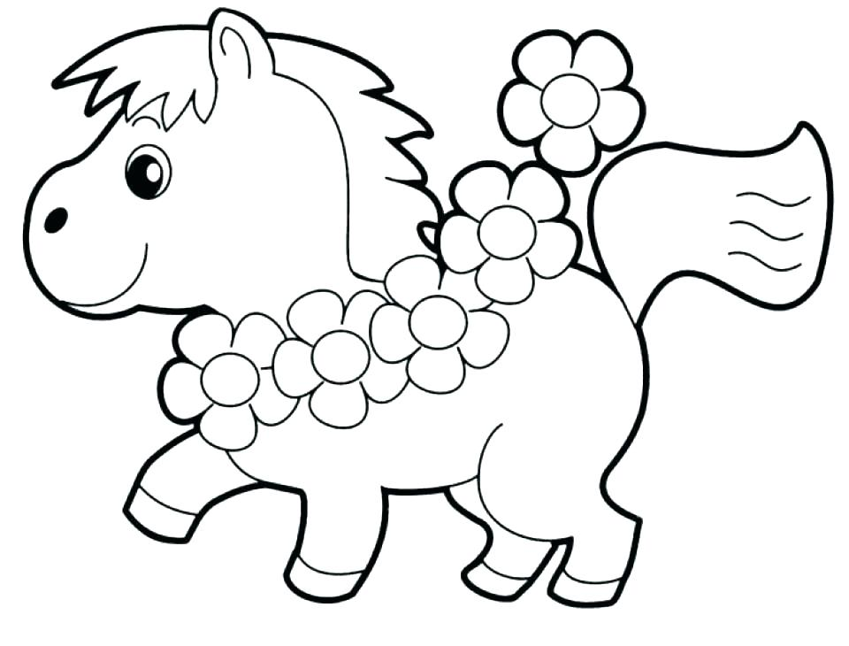 960x730 Easy Flower Color Pages Easy Coloring Pages Elegant Easy Coloring