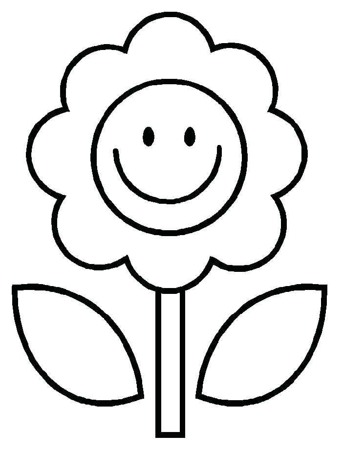 700x933 Flower Coloring Page Flower Coloring Pages Flower Coloring Pages