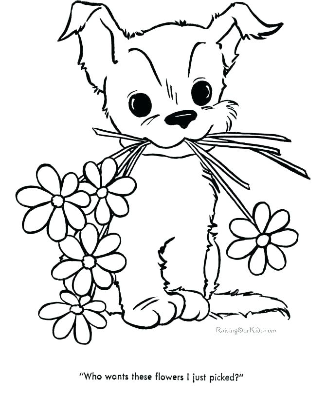 670x820 Spring Flower Coloring Pages Coloring Pages Of Cute Cute Flower