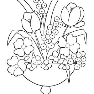 300x300 Coloring Sheets Of Flowers Printables Fresh Free Printable Flower