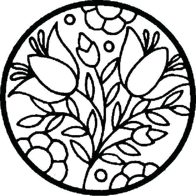 675x676 Free Printable Coloring Pages Of Flowers Flowers Coloring Pages