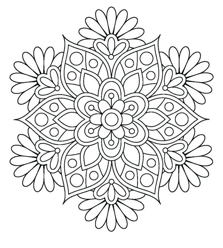 736x817 Flower Color Pages Flower Coloring Pages Awesome Projects Flower