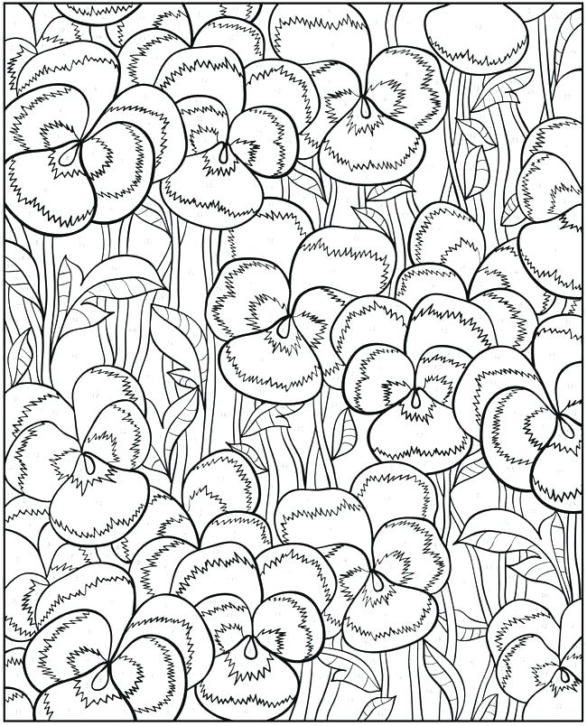 650x804 Flower Designs Coloring Book Floral Design Coloring Pages Images