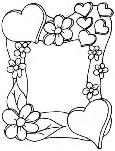 229x300 Hearts Coloring Pages Doodles, Embroidery