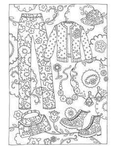 236x305 Vector Illustration Zentangl Girl Friend In A Flower Frame, Doodle