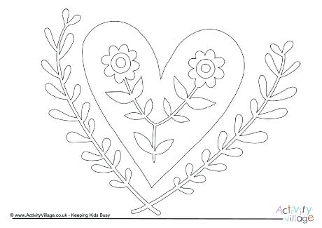 460x325 Coloring Pages Flowers For Adults Colouring Older Kids And Red