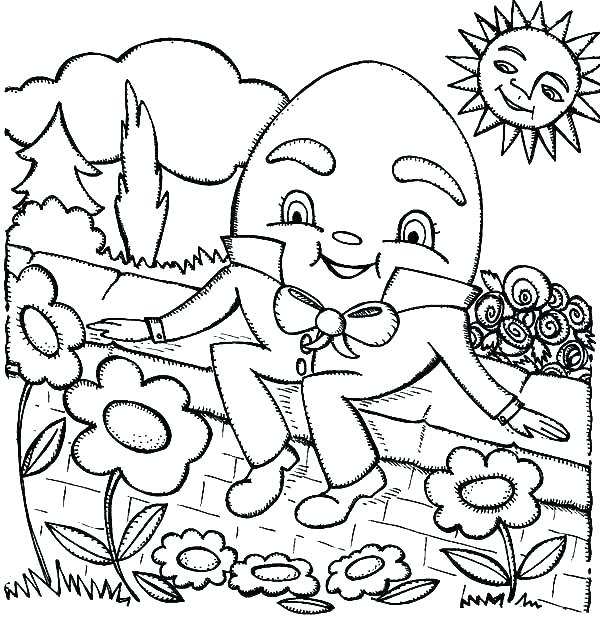 600x618 Flower Garden Coloring Pages Garden Coloring Pages Flower Garden