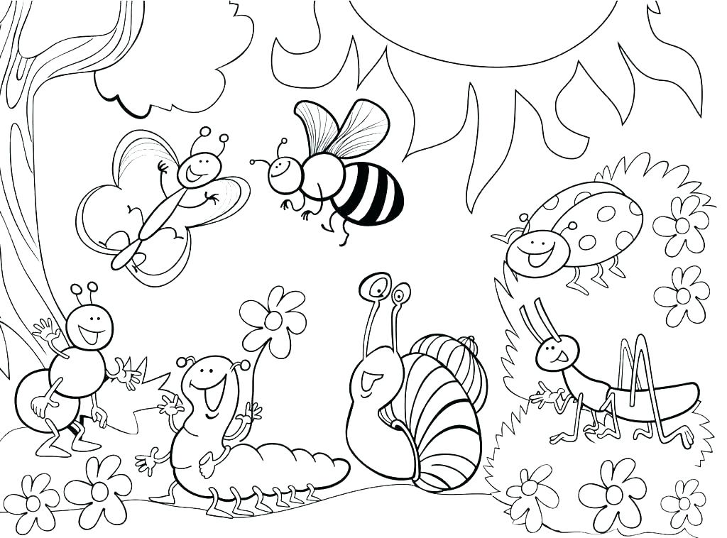 1024x758 Flower Garden Coloring Pages Coloring Pages Garden Garden Coloring