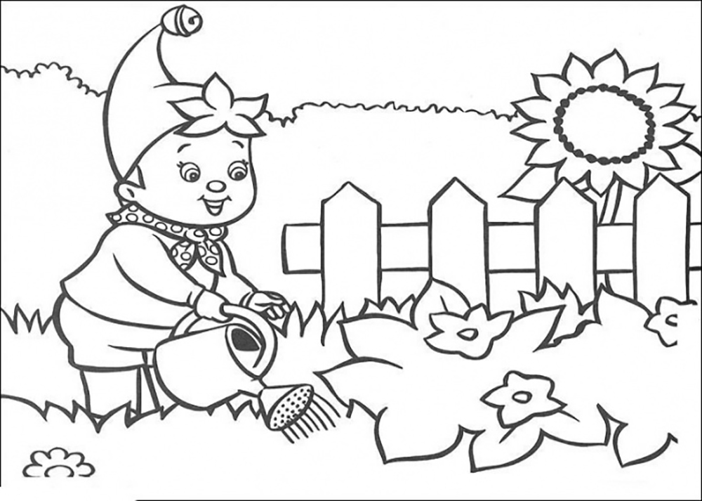 1000x713 Flower Garden Coloring Pages For Kids Printable Coloring Pages