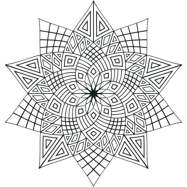 600x600 Flower Mandala Coloring Pages Flower Mandala Coloring Pages