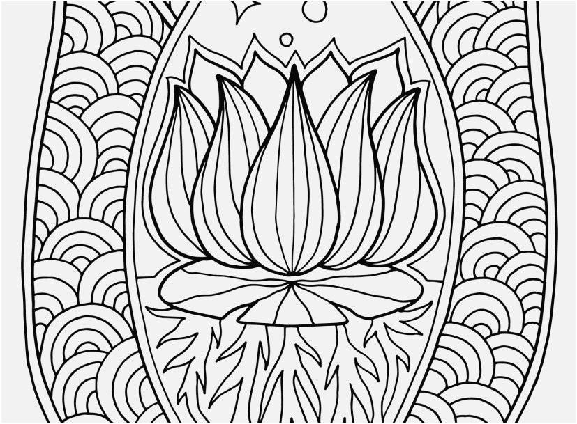 827x609 Flower Mandala Coloring Pages View Unique Lotus Flower Mandala
