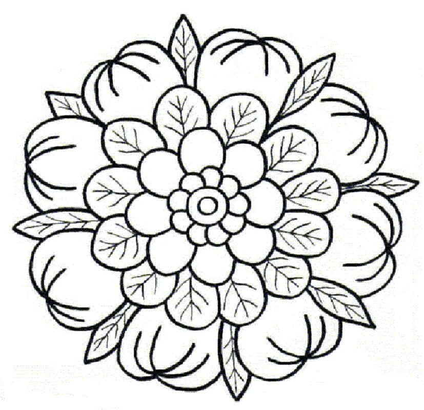 827x800 Lotus Flower Coloring Page And Related Lotus Flower Mandala