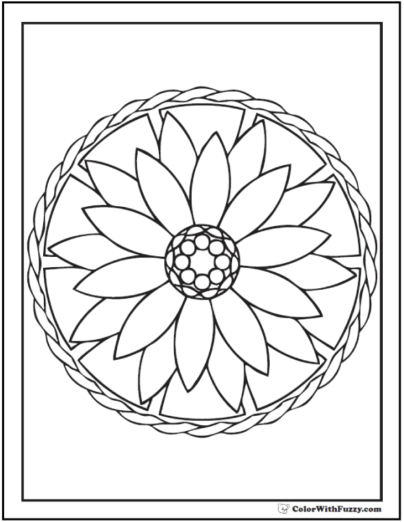 590x762 Flower Pattern Coloring Pages Impressive Pattern Coloring Pages