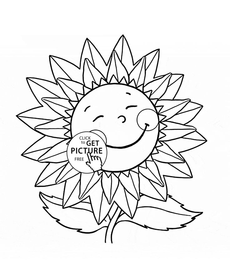 736x859 Best Flowers Coloring Pages Images On Coloring