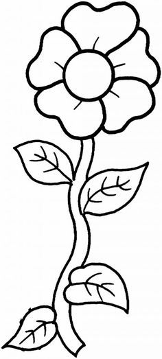 236x523 Printable Flowers To Color Flowers Coloring Pages Kids