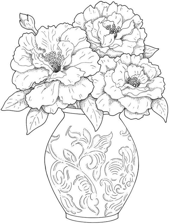 564x746 Flowers Coloring Pages Got Coloring Pages