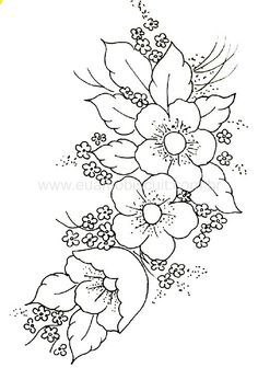 Flower Vine Coloring Pages